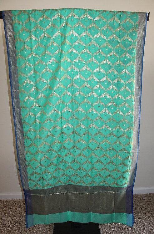 Banarasi Handwoven Art Silk Dupatta