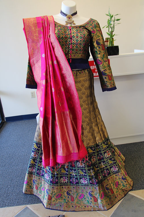Banarasi Patola Lehenga / Dress