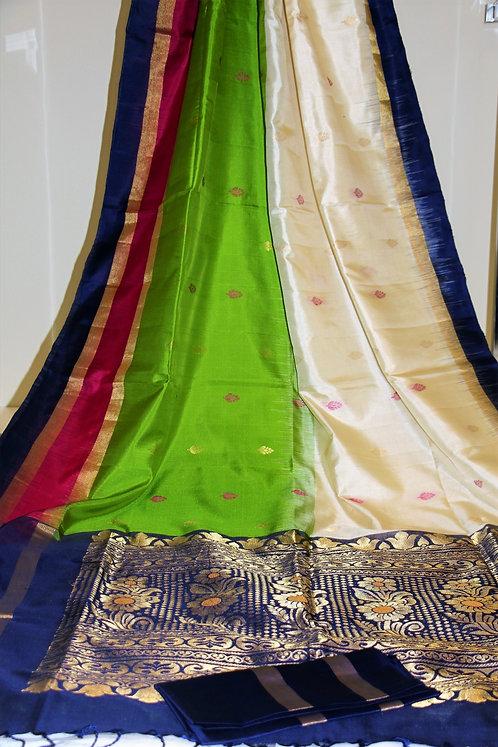 Pure Hand-loom Kanchipuram South Silk
