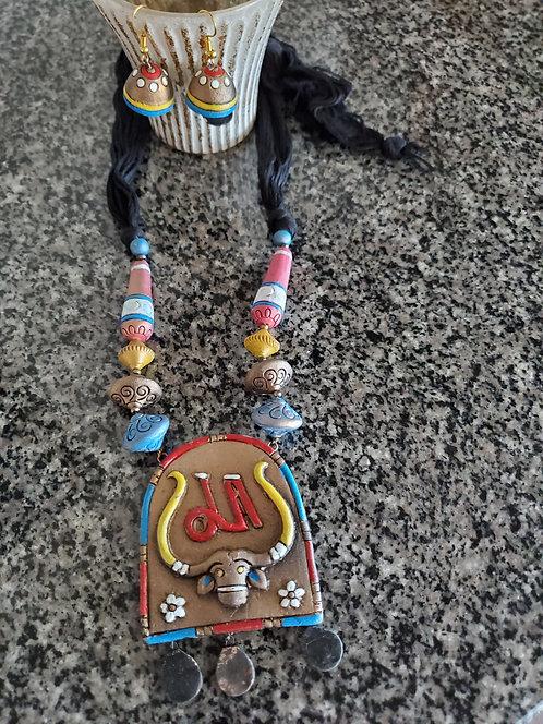 Handcrafted, Handpainted Terracotta Jewelry
