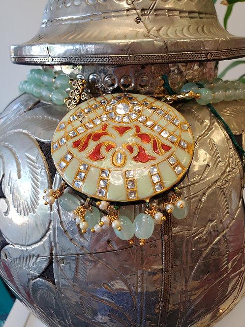 Beautiful Meenakari Jewelery Set