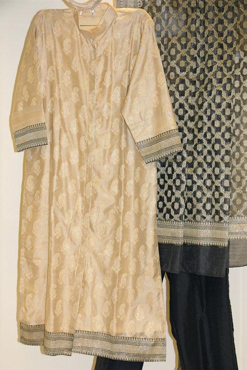 Cotton Silk Suit / Attire