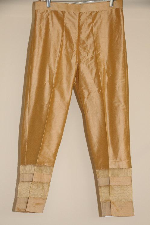 Stripe Silk Pants