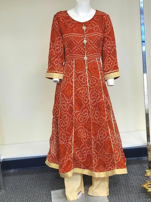 Bandhini Suit / Dress / Outfit