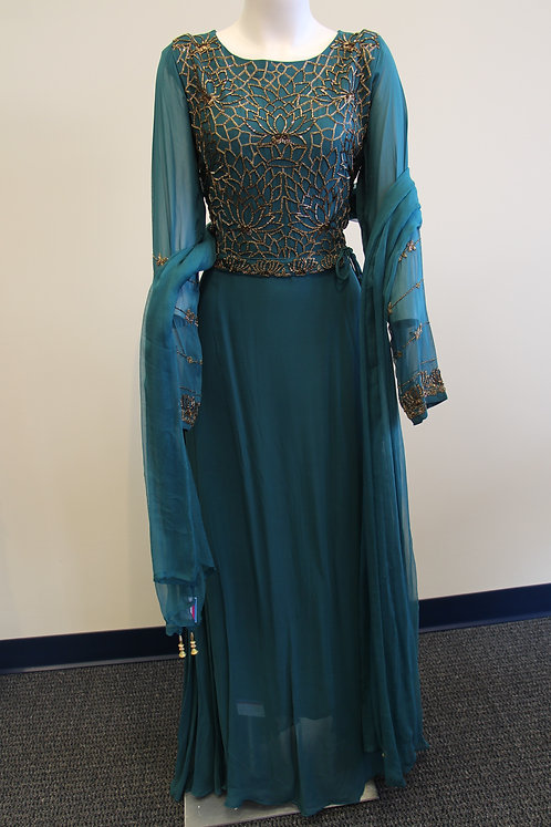 Rama Green Gown
