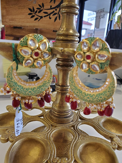 Chandbali / Earrings