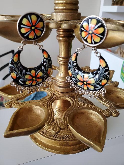 Beautiful painted earrings