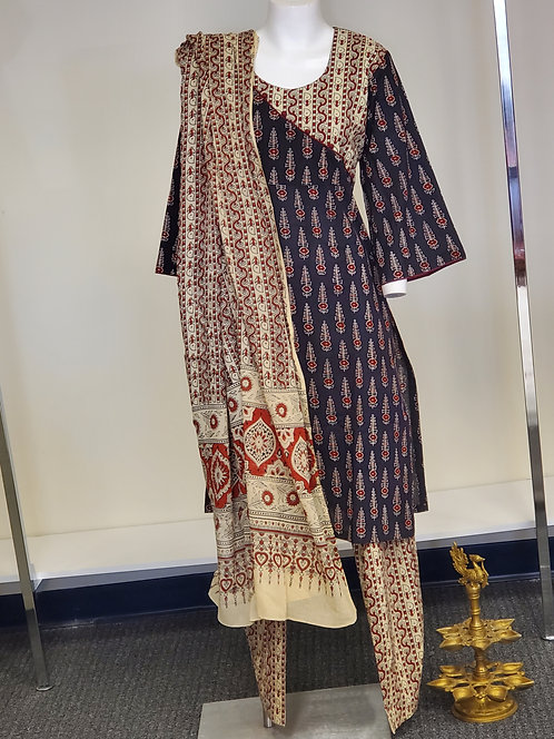 Azrak Print Suit / Dress