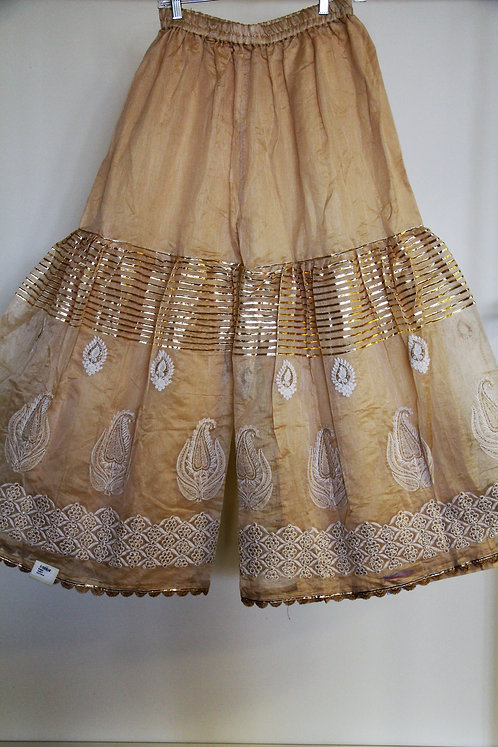 Golden Sharara / Pants