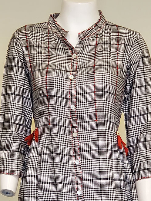 Cotton Fusion Wear Dress / Outfit