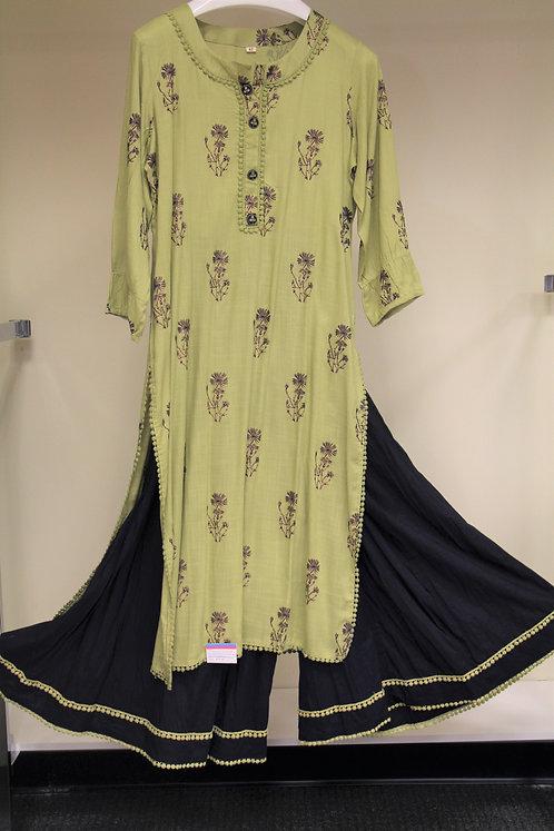 Cotton Sharara Suit / Dress