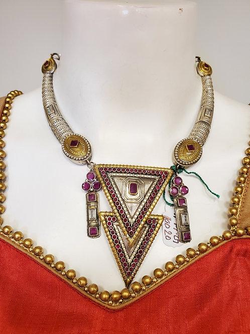 Dual Tone German Jewelry Set