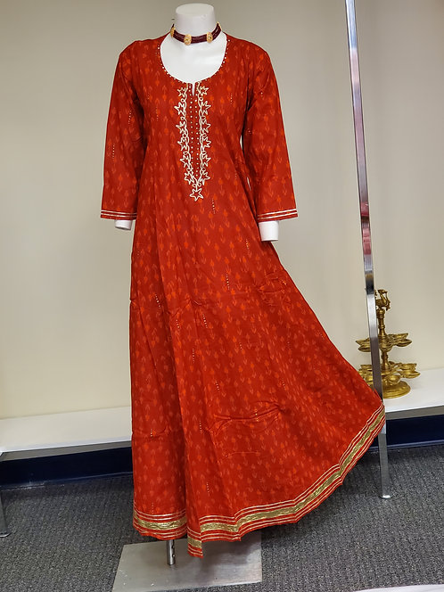 Red Gown / Kurti