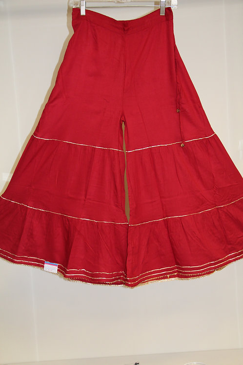 Cotton Flared Pants / Garara