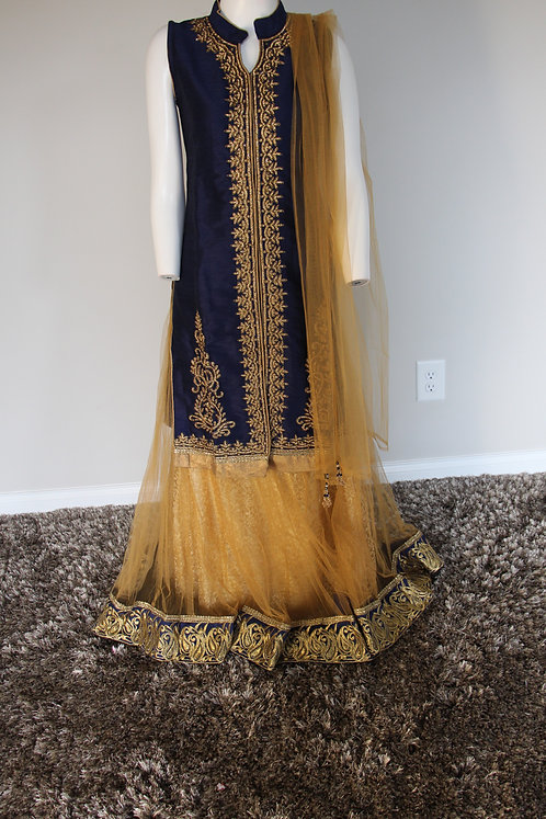 Girls Lehenga with Jacket