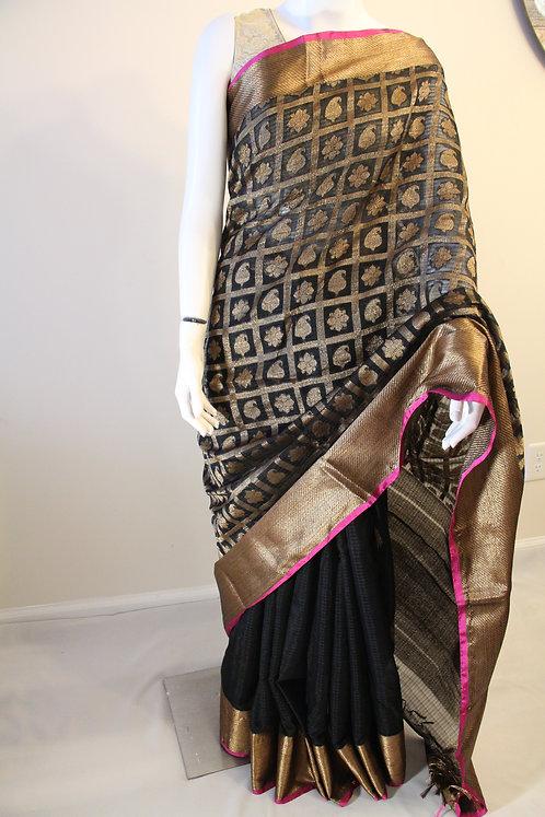 Handloom Pure Cotton Silk