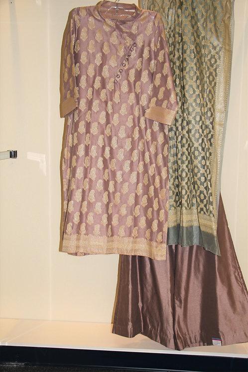 Pure Cotton Silk Suit / Attire