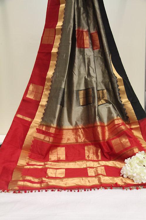 Pure South Silk Kanchipuram Saree