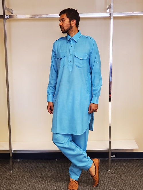 Men Pathani Style Kurta Set