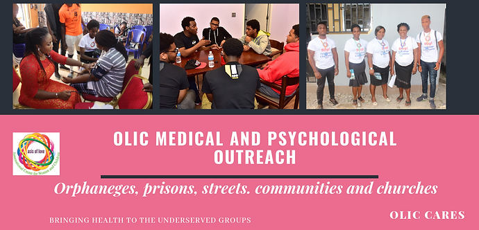 OLIC Medical and psychological outreach