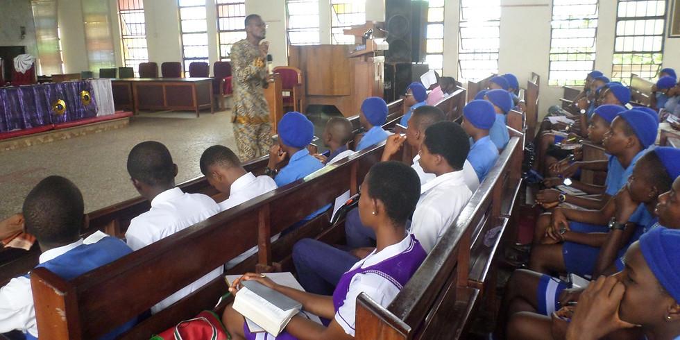 Mental health awareness in Bexel International School, Iba New Site, Ojo, Lagos Nigeria
