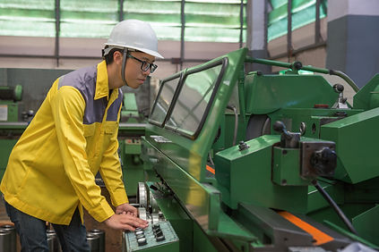 labor operation with a lathe, industrial