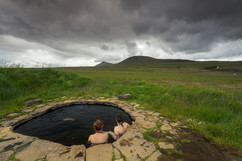 Hot Spring in the Mountains