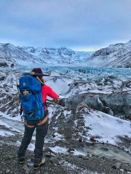 Overlooking Svínafellsjökull