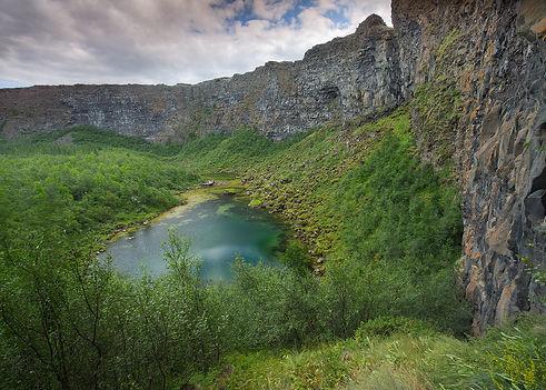 Asbyrgi in North Iceland