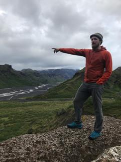 Looking over Þórsmörk