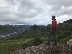 Looking over Þórsmörk