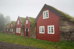 Old turfhouses