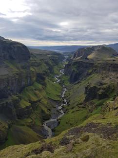 Hvannárgil canyon
