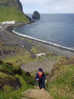 Exploring in Vestmannaeyjar