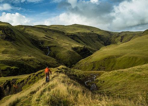 Mountain biking in Iceland