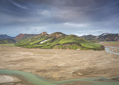 Landmannalaugar hot springs in Iceland