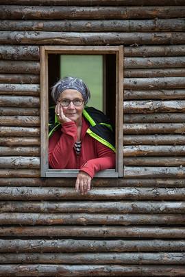 Little Cabin in Hallormstaðarskógur woods