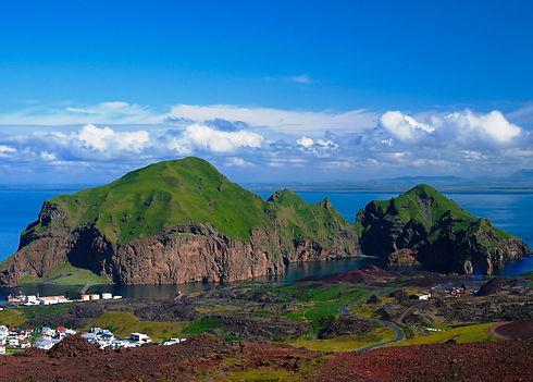 Heimaey, Westman Islands in Iceland