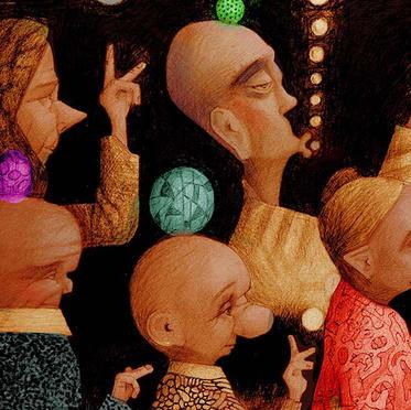 A Procession of Balls