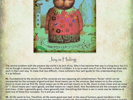 Joy is in Hiding