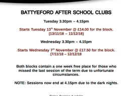 Battyeford After School Clubs