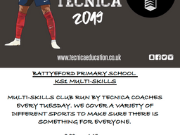 Battyeford After School Clubs 2019