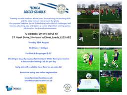 *NEW - Sherburn Soccer School, Leeds