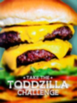 JC's Burger House - Toddzilla Triple Burger Challenge