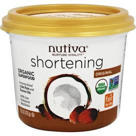 Nutiva Shortening, Vegan Shortening