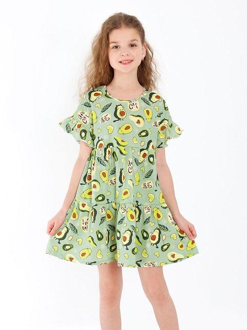"""KIP-ПЛ-18/2 Платье для девочки """"Оттавия-2"""""""