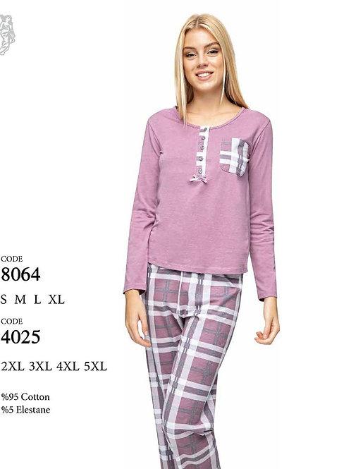 4025 Пижама с брюками