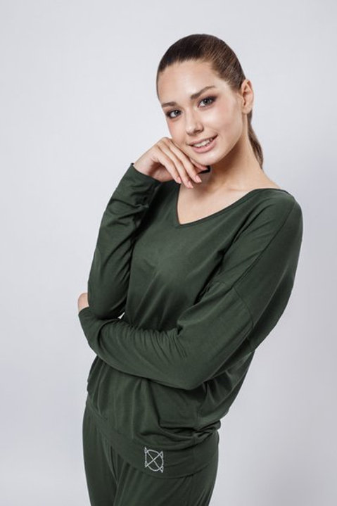 OXO-0745 Комплект джемпер+брюки жен. мод. 8