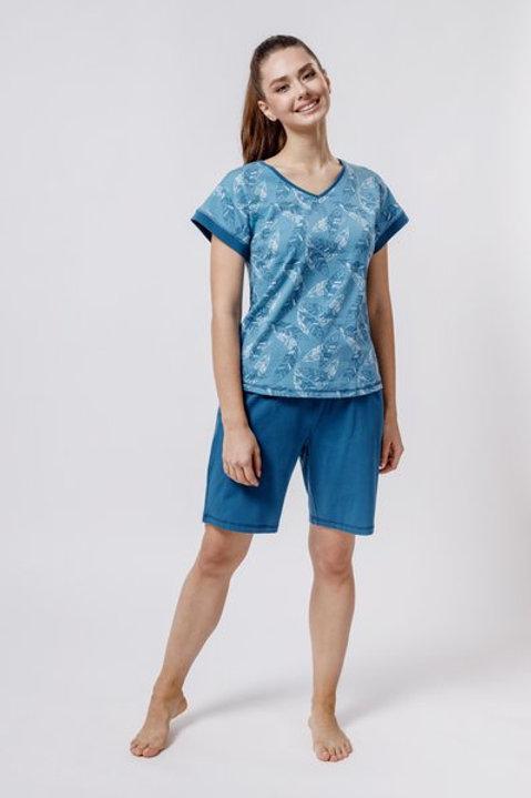 OXO-0859 Комплект футболка/шорты жен. мод. 4