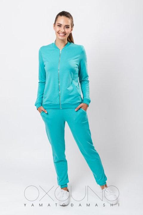 OXO-0711 Комплект толстовка/брюки жен. мод. 1